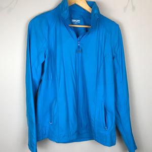 Turquoise, Full Zip Kirkland Sz M Lt Wt jacket